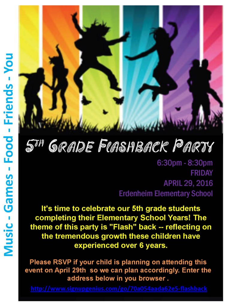 EEHSP 5th Grade Family Event – Enfield / Erdenheim Home