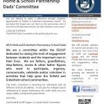 Be a part of the EEHSP Dads' Committee